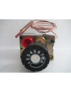 Gas Thermostat Hot Cupboard (Eurosit) Nat Gas (w/govenor) or LP Gas (w/ silver screw)  Knob not available separately on Gas unit